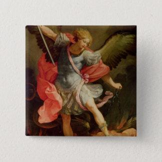 Chapa Cuadrada El arcángel Michael que derrota Satan
