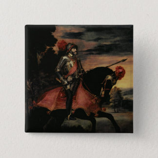 Chapa Cuadrada El emperador Charles V a caballo