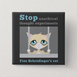 Chapa Cuadrada El gato de Schrodinger libre