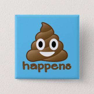Chapa Cuadrada El impulso sucede Emoji