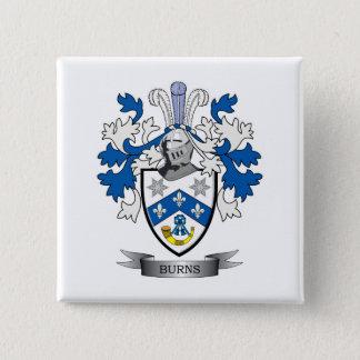 Chapa Cuadrada Escudo de armas del escudo de la familia de las