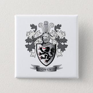 Chapa Cuadrada Escudo de armas del escudo de la familia de Owen