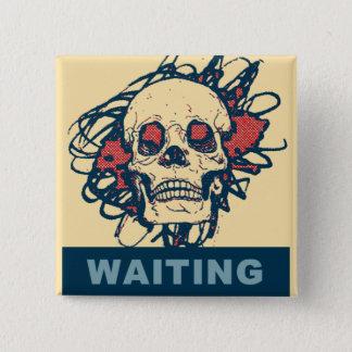 Chapa Cuadrada ¡Esperar algo!