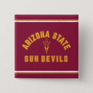 Chapa Cuadrada Estado el | Sun Devils de Arizona - retros