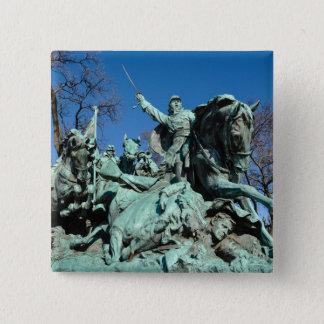 Chapa Cuadrada Estatua de la guerra civil en Washington DC