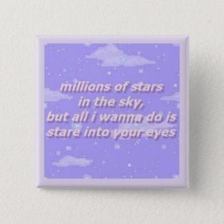 Chapa Cuadrada estrellas