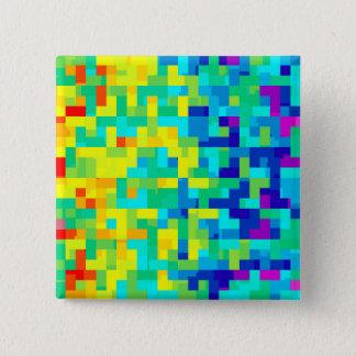 Chapa Cuadrada Fondo inconsútil del modelo del pixel como