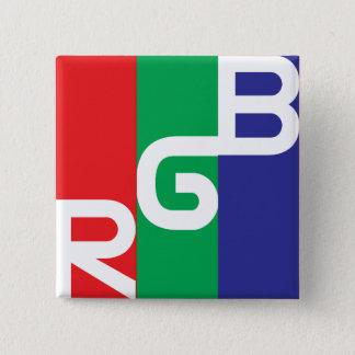 Chapa Cuadrada Geometría del RGB