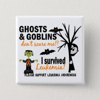Chapa Cuadrada Halloween 1 superviviente de la leucemia