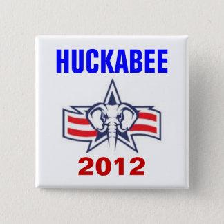Chapa Cuadrada Huckabee 2012