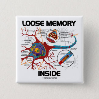 Chapa Cuadrada Interior flojo de la memoria (neurona/sinapsis)