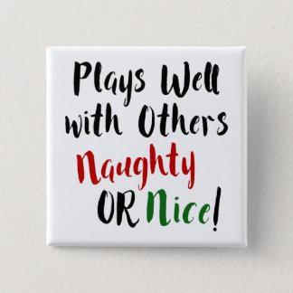 Chapa Cuadrada ¡Juegos bien con otros traviesos O Niza! Navidad