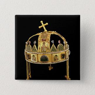 Chapa Cuadrada La corona santa de Hungría, 11mo-12mo siglo