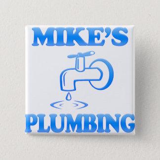 Chapa Cuadrada La fontanería de Mike