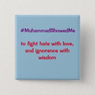 Chapa Cuadrada La tormenta Mohamed de Hashtag del gorjeo me