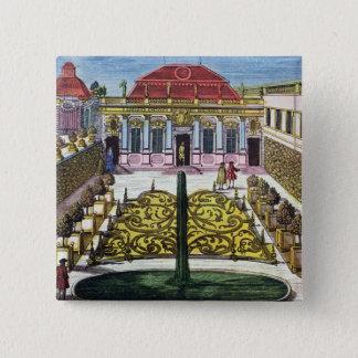 Chapa Cuadrada Los jardines del parque del mirabel, Salzburg,