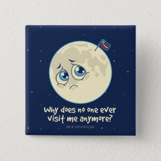 Chapa Cuadrada Luna triste