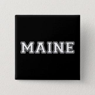 Chapa Cuadrada Maine