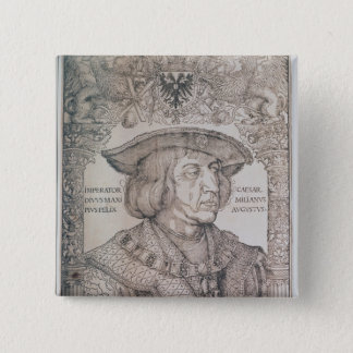 Chapa Cuadrada Maximiliano I, emperador de Alemania, 1518