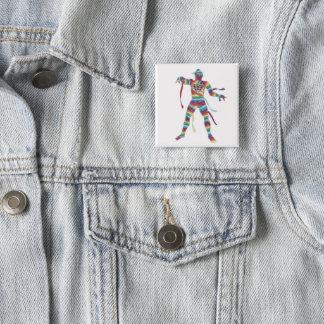 Chapa Cuadrada Momia italiana de la moda