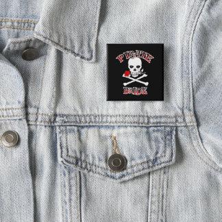Chapa Cuadrada Novia del pirata