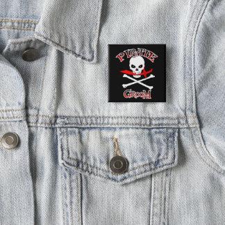 Chapa Cuadrada Novio del pirata
