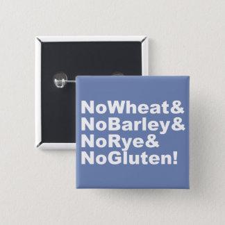 Chapa Cuadrada ¡NoWheat&NoBarley&NoRye&NoGluten! (blanco)