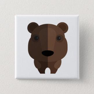 Chapa Cuadrada oso lindo ps058