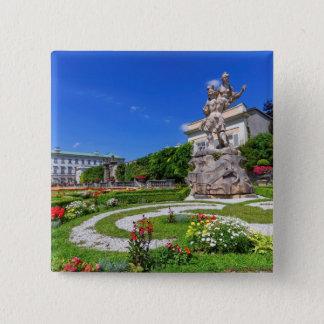 Chapa Cuadrada Palacio y jardines, Salzburg, Austria de Mirabell