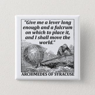 Chapa Cuadrada Palanca de Arquímedes