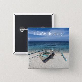Chapa Cuadrada Para el amor de Boracay