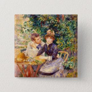 Chapa Cuadrada Pedro un Renoir el | en el jardín