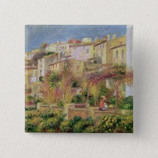 Chapa Cuadrada Pedro una terraza de Renoir el | en Cagnes