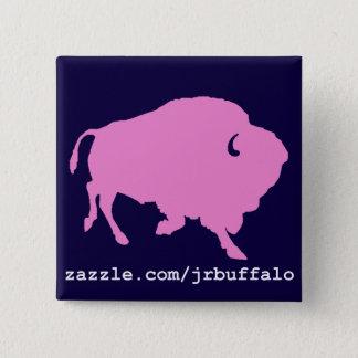 Chapa Cuadrada perno rosado del cuadrado del búfalo