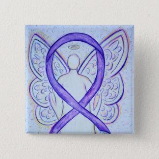 Chapa Cuadrada Pernos violetas del arte de la cinta de la