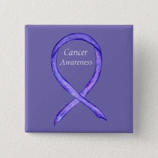 Chapa Cuadrada Pernos violetas del personalizado de la cinta de