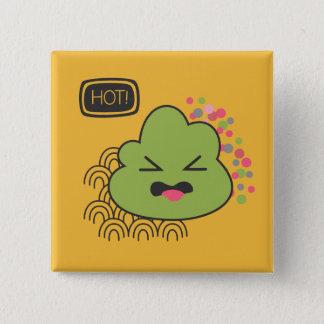 Chapa Cuadrada Pin de Wasabi