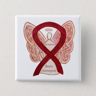 Chapa Cuadrada Pin del arte de la cinta del ángel de la