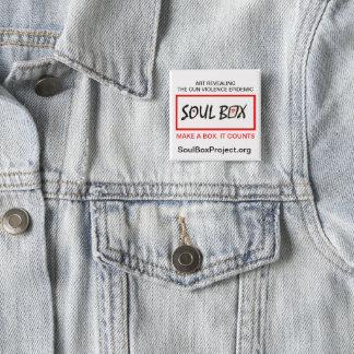 Chapa Cuadrada Pin del proyecto de la caja del alma