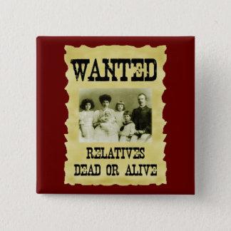 Chapa Cuadrada Poster querido