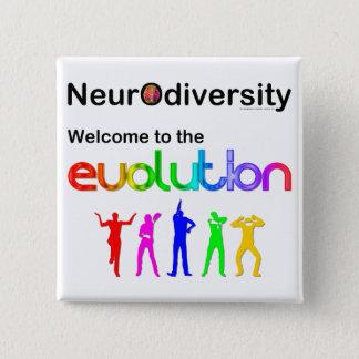Chapa Cuadrada Recepción de Neurodiversity a la evolución