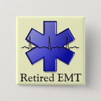 Chapa Cuadrada Regalos jubilados de EMT