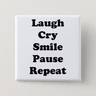 Chapa Cuadrada Repetición de la risa
