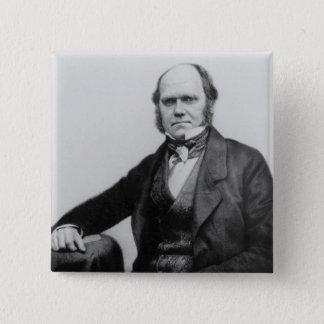 Chapa Cuadrada Retrato de Charles Darwin, 1854
