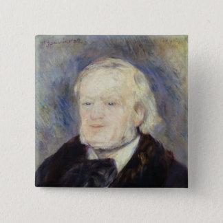 Chapa Cuadrada Retrato de Richard Wagner 1882