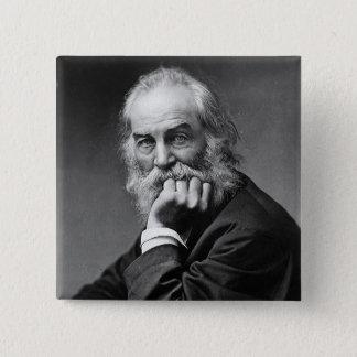 Chapa Cuadrada Retrato esencial de Walt Whitman
