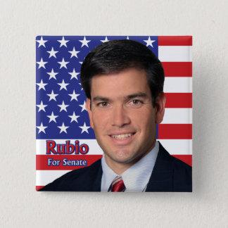 Chapa Cuadrada Rubio para el senado