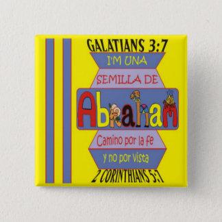 Chapa Cuadrada SEMILLA de ABRAHAM© BtnESP