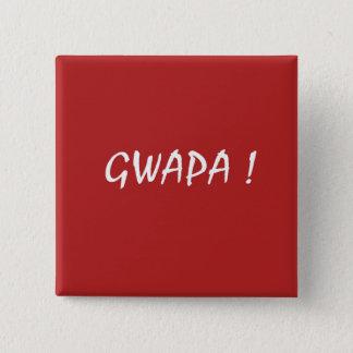 Chapa Cuadrada Tagalogo rojo del filipino del cebuano del diseño
