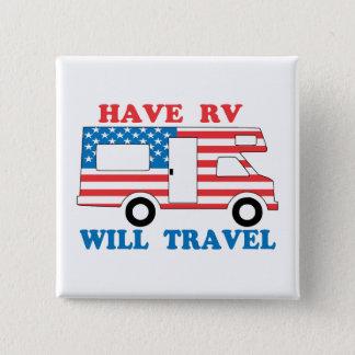 Chapa Cuadrada Tenga rv viajará América